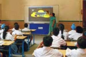 Now, smart classrooms for poor students at Sarvodaya Schools