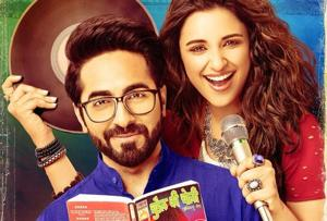 Meri Pyaari Bindu poster: Why is Ayushmann Khurrana reading 'Chudail...