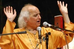 Pandit Jasraj on his life-long love for music