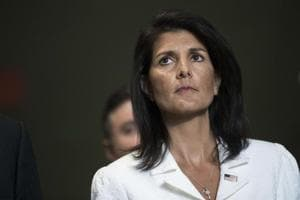 US diplomat Nikki Haley says her mother couldn't be a judge in India...