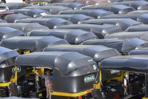 Fewer auto-rickshaws in Mumbai's Western suburbs as pipeline burst...