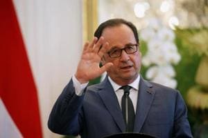 France's Hollande says no trade deal with UK before Brexit
