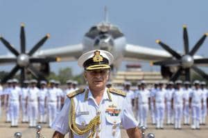 Indian Navy bids farewell to TU-142M aircraft after 29 years of...