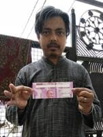 Ghaziabad resident gets misprinted Rs 2,000 note from PNB ATM
