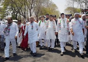 Sangharsh Yatra: Third phase from April 25, Oppn to cover 700km in 2...
