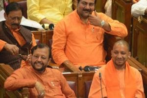 Yogi Adityanath leads saffron surge in Uttar Pradesh assembly
