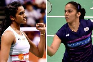 PV Sindhu beat Saina Nehwal in a quarterfinal match of the India Open superseries badminton championship in New Delhi today. Catch highlights of Saina Nehwal vs PV Sindhu match here.