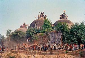 Much of what you heard when you were a child may now be myth. For instance, that great Ram temple at Ayodhya: There was once a mosque called the Babri Masjid there.