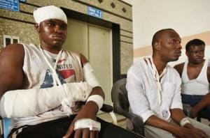 The violent attacks on Africans in Greater Noida, which followed the...