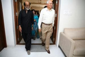 The meeting between Rajinikanth and the Malaysian Prime Minister Mohammad N Razak  had no agenda.