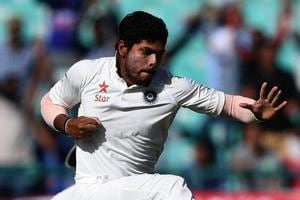 Umesh Yadav averaged 30 overs per Test on Indian tracks mostly favouring spin, collecting 32 wickets in the season, 17 of them at an average of 23.41 in the 2-1 series win over Australia cricket team.