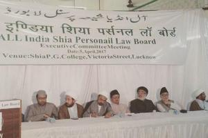 All India Shia Personal Law Board (AISPLB) said on Wednesday the dispute over a religious site in Ayodhya should be resolved through talks and also denounced the practice of triple talaq amid fresh spotlight on both the issues.