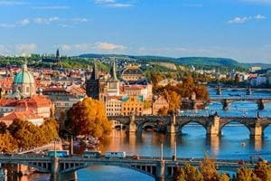 Book your trip to Prague 3 to 7 months in advance to save 24% on hotel bookings, says TripAdvisor.
