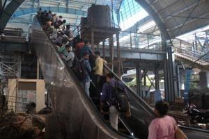 Soon, Mumbai's suburban stations to get 100-plus escalators