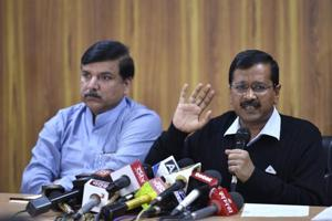 AAP says L-G cancelled Delhi office space allotment, alleges discrimination