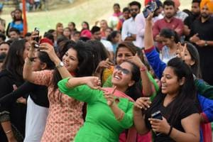 In pictures   Colours of a college fest in Jalandhar