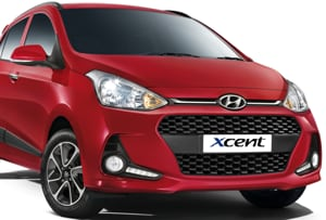 The 2017 Hyundai Xcent will get the face of the new Grand i10, but the rear will get more changes. A new diesel engine is also expected in the new compact sedan.