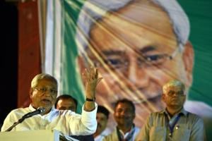 MCD election: Nitish Kumar calls for liquor ban in Delhi