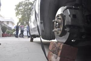 Wheel thieves target cars in Chandigarh; 10 cases in 15 days