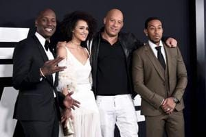 Fate of the Furious premieres, but Vin Diesel and The Rock won't pose together