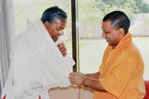 Chief ministers Yogi Adityanath of UP and Trivendra Singh Rawat of Uttarakhand — both of whom hail from Pauri Garhwal region of Uttarakhand — on April 10, soon after the BJP stormed to power in the two states.