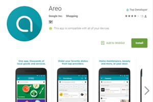 Areo, Google's new food delivery services app, is already available in the app store for download and can be accessed only in Mumbai and Bengaluru now.