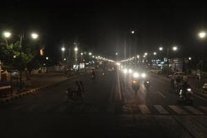 A view of Civil Lines, Allahabad.