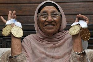 Mann Kaur will compete in the 100m, 200m, shot put and javelin events in the 100-plus category at the World Masters Games in Auckland later this month.