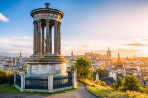 The heritage of England can be witnessed in its various cities such as Edinburgh.