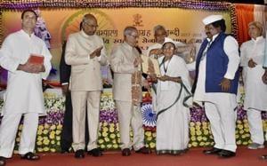 To keep India united, celebrate its diversity, says Prez Mukherjee at Gandhi function