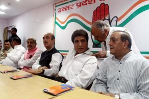 Cong's civic poll strategy meet turns into occasion to criticise alliance with SP