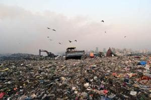 Adharwadi dump yard
