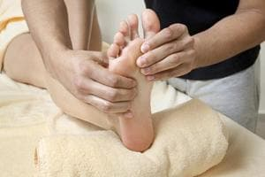 """Acupressure is based on the concept of life energy which flows through """"meridians"""" in the body."""