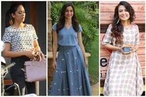 While the trend has never gone out of vogue, our celebs have been rocking the print of late.