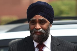 Sajjan will land in Amritsar on Wednesday at 5pm