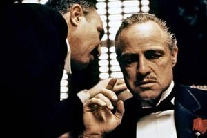 File photo of actor Marlon Brando in the titular role in The Godfather, based on Mario Puzo's acclaimed 1969 novel.