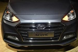 Hyundai Motor India Ltd launched a facelift of its compact sedan Xcent in New Delhi on Thursday,