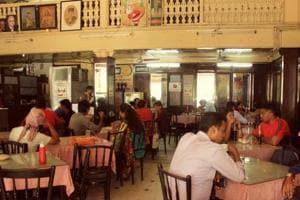 The Kyani & Co restaurant at Metro, Dhobi Talao, Mumbai.