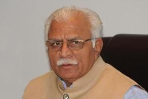 Haryana CMManohar Lal Khattar