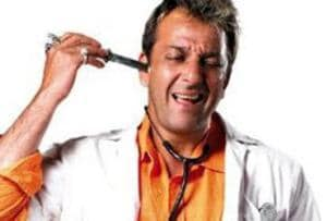 From reel to real: A still from Munnabhai MBBS.