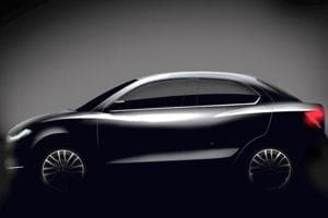 The first sketch of the new Swift DZire 2017 was released on Friday.
