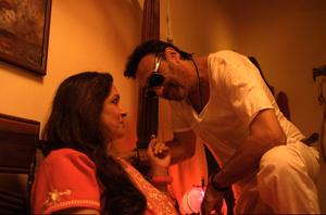 Jackie Shroff and Neena Gupta like you've never seen them before. Khujli, 2017.