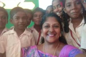 A teacher's mission:These students in rural Tamil Nadu speak the...