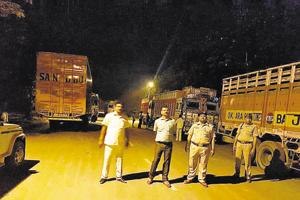 Rs 20 lakh fine levied on 17 trucks  for overloading, evading taxes