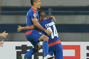 Sunil Chhetri leads Bengaluru FC to big win over DSK Shivajians in...
