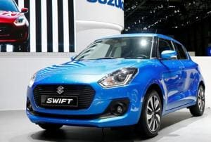 The 2017 Suzuki Swift car showcased at the 87th International Motor Show in March, which will come to India by early 2018. The face of the DZire will be mostly similar to this.