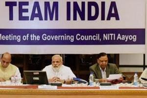 Niti Aayog meet: PM Modi urges states to work closely with Centre...