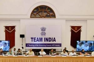 At Niti Aayog meet, PM Modi asks states to speed up infrastructure...