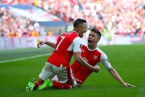 Alexis Sanchez scores winner as Arsenal beat Manchester City F.C.  to...