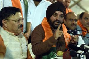 MCD election: Arvinder Singh Lovely returns without casting vote as...